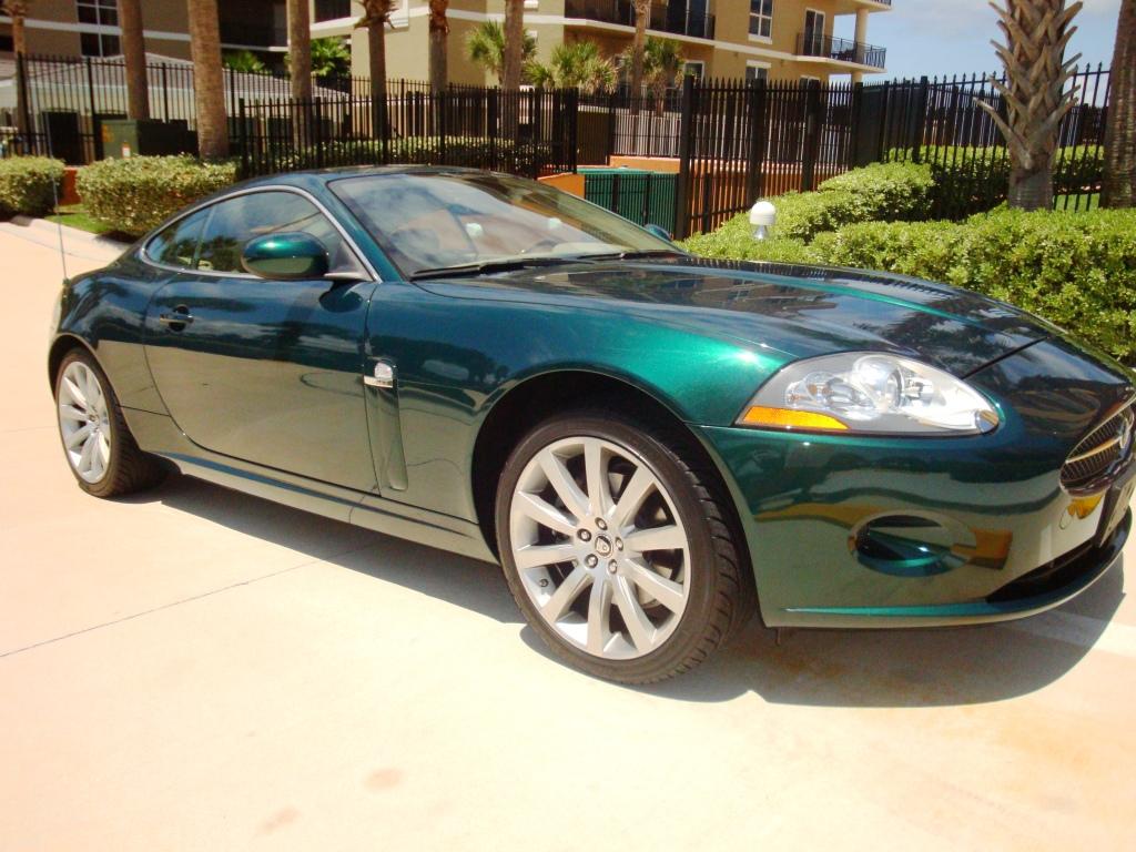 2007 jaguar xk coupe green auto concepts. Black Bedroom Furniture Sets. Home Design Ideas