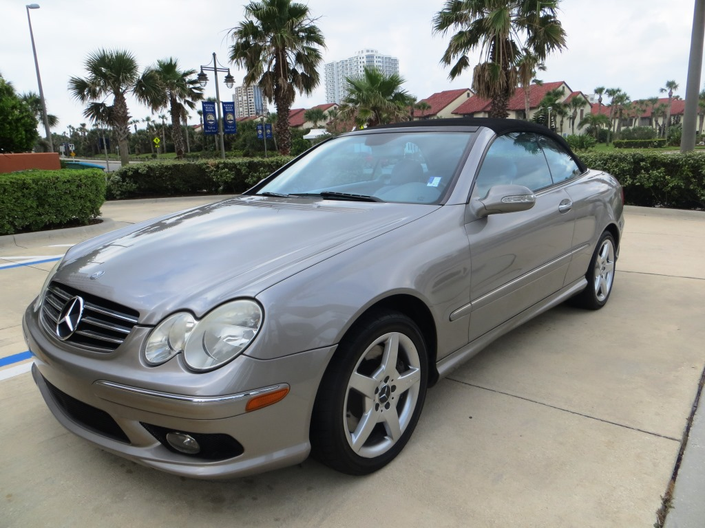 2005 mercedes benz clk 500 convertible sold auto concepts for Mercedes benz 500 convertible