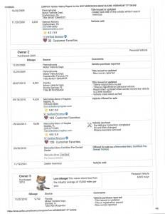 2007 MERCEDES SLK280 RED CARFAX_0005